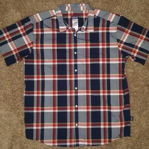 Patagonia men's plaid shirt SZ XL